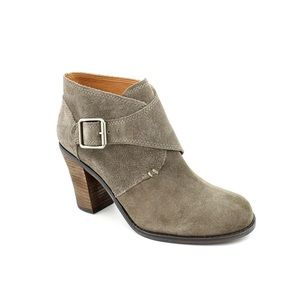 Almost New Lucky Brand Mickie suede Ankle Boots 6